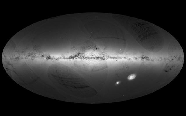 Karte der Milchstraße