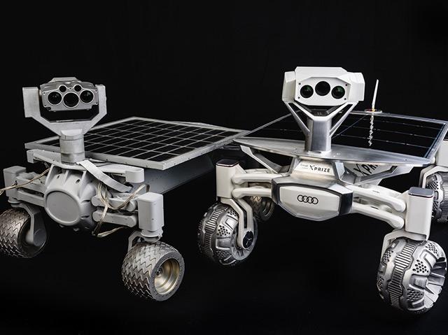 """Die Rover """"Rev 3C"""" und """"Rev 4A""""."""