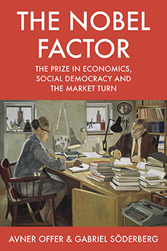 "Cover des Buchs ""The Nobel Factor"""