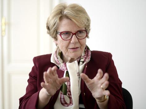 """Die Vorsitzende der """"Unabhängigen Opferschutzkommission"""", Waltraud Klasnic"""