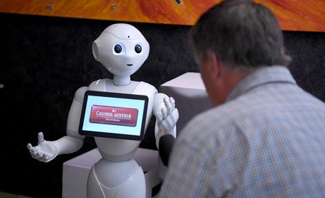 """Interview mit dem Roboter """"Pepper"""""""