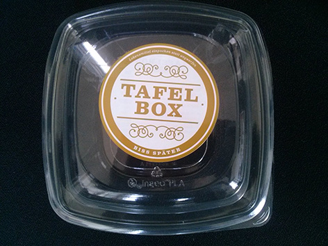Eine Tafelbox