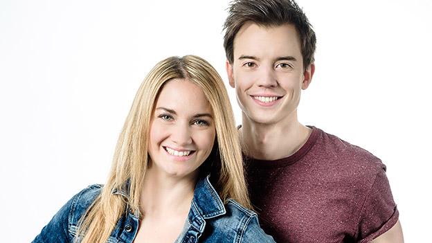 Gabi Hiller und Philipp Hansa