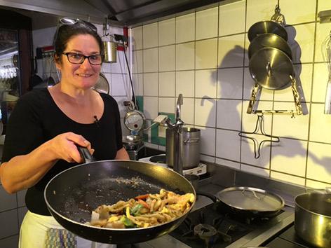 Kärnten Gmünd EG Spätzle Gemüse Curry Mittwoch 2 November 2016