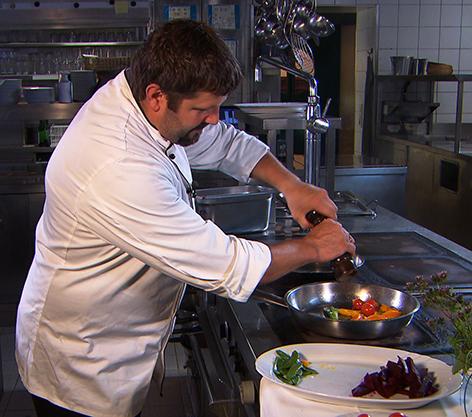 Küchenchef im Gasthof Bräurup in Mittersill