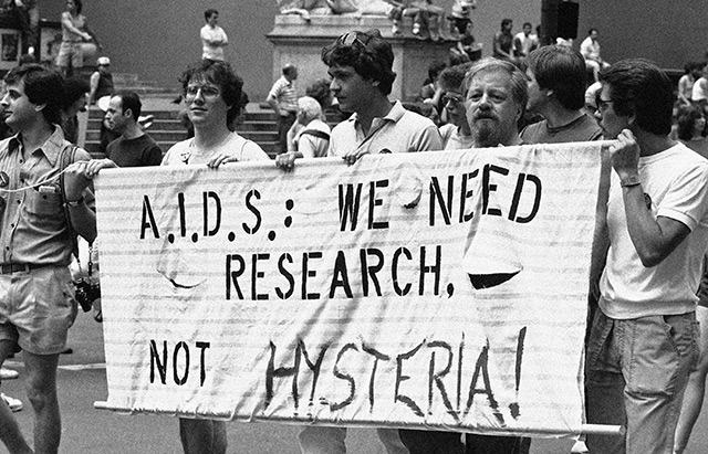 Demo: Gay Pride parade in New York, 1983