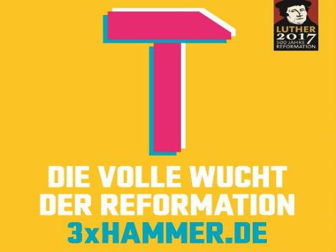 Motiv der nationalen Sonderausstellung in Berlin, Eisenach und Wittenberg zum Reformationsjahr 2017