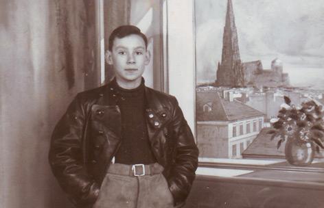 Fotopostkarte von Maxi Reich, einer der Deportierten