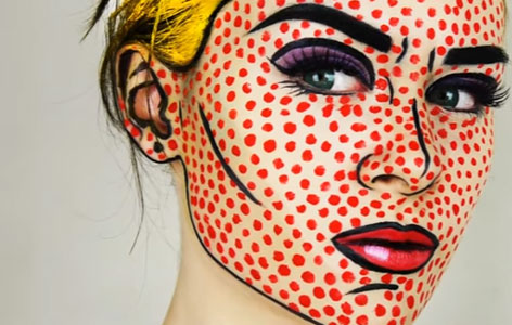 Make-up Pop Art