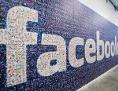 Facebook-Logo aus vielen Gesichtern