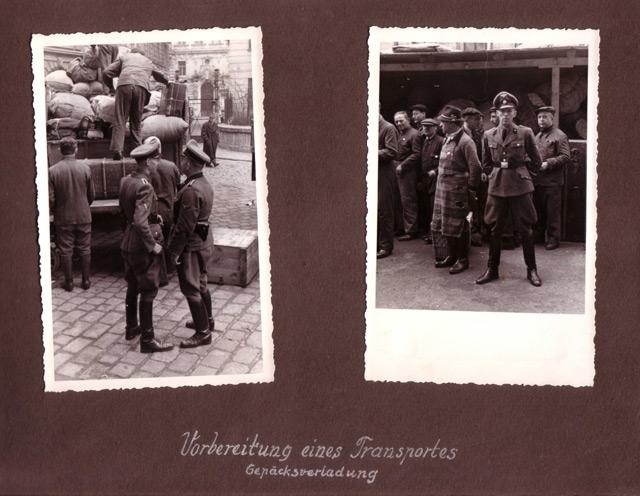 """Die einzigen Fotos aus einem Sammellager zeigen den gefürchteten """"Deportationsexperten"""" Josef Weiszl. Er wird 1949 in Paris zu lebenslanger Haft verurteilt, erhält später in Wien Heimkehrerfürsorge und stirbt 1984."""