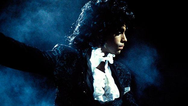 Prince auf der Bühne
