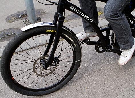 E-Bike auf Fahrradweg