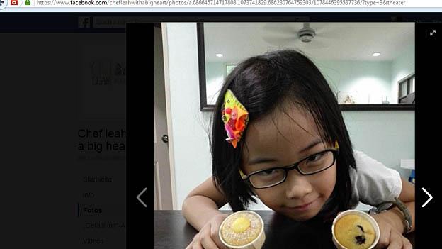 Screenshot Siebenjährige Bäckerin