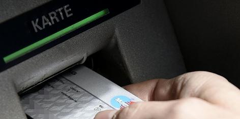 Bankomatabhebung