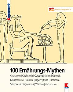 """Cover des Buches """"100 Ernährungsmythen"""""""