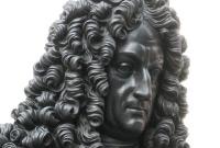 Leibniz-Denkmal an der Universität Leipzig