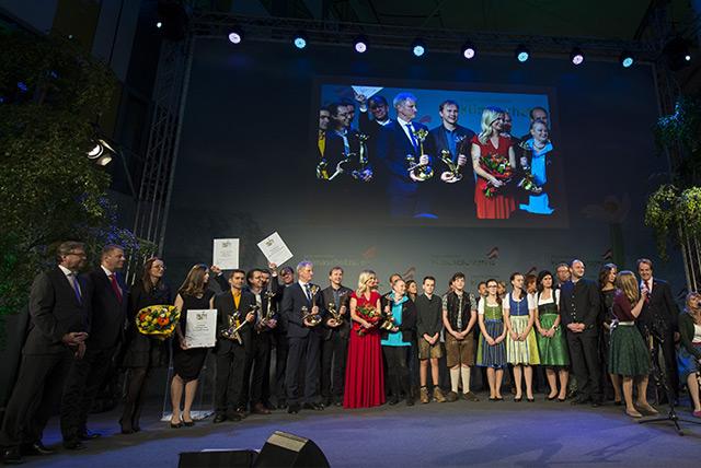 Die Preisträger und Preisträgerinnen des Klimaschutzpreises