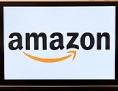 Das Logo des Internethändlers Amazon ist auf einem i-Phone zu sehen