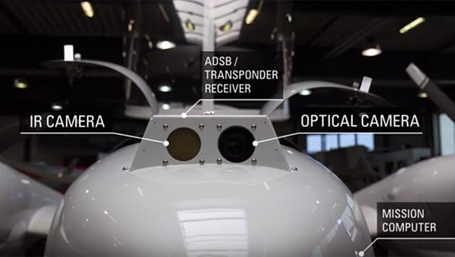 Das autonome Flugzeug des AIT