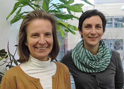 Ines Swoboda und Alexandra Schebesta
