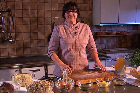 Michaela Hettegger in der Küche