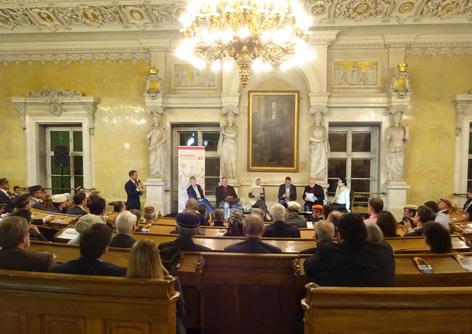 Diskussionsrunde Cartellverband Islam Wien