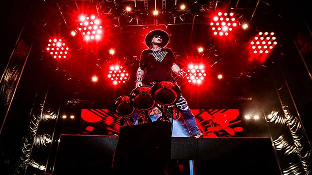 Axl Rose von Guns N' Roses