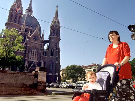 Die Kirche Maria vom Siege in Wien 15