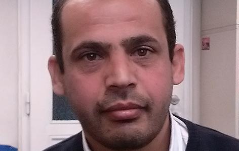 Der syrische Pflanzengenetiker Hamdi al-Saffouri