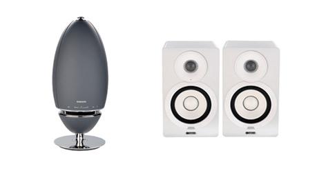Produktbilder der WLAN-Lautsprecher im VKI-Test