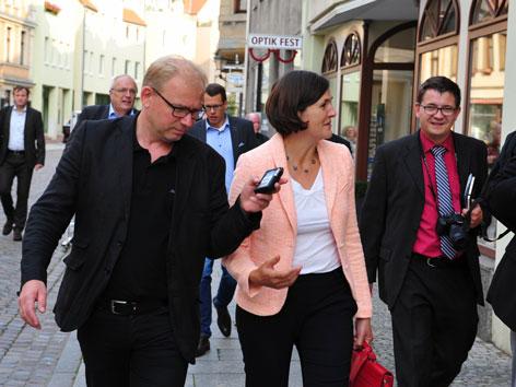 Pfarrerin Kristin Jahn Martin Gross DDR Lutherreise Thüringen Reformationsjubiläum