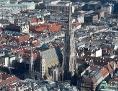 Blick auf Wiener Innenstadt mit Stephansdom
