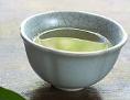 Grüner Tee und Teekanne