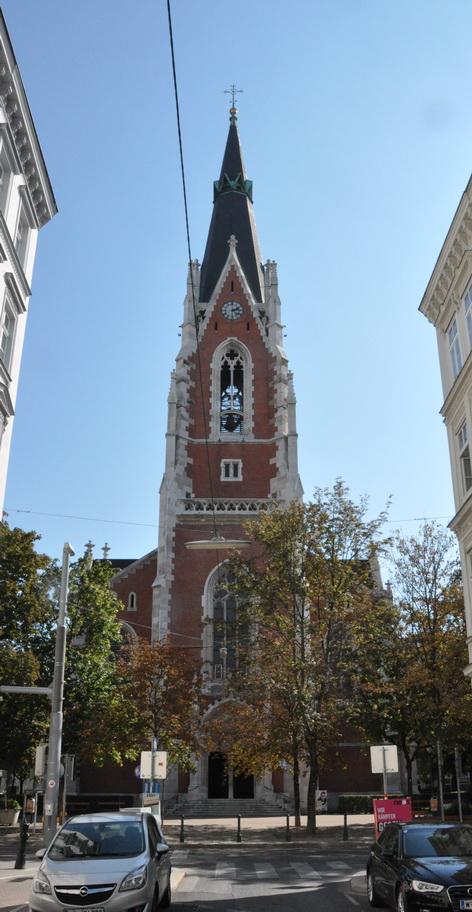 Kirche Sankt Elisabeth Wien Wieden