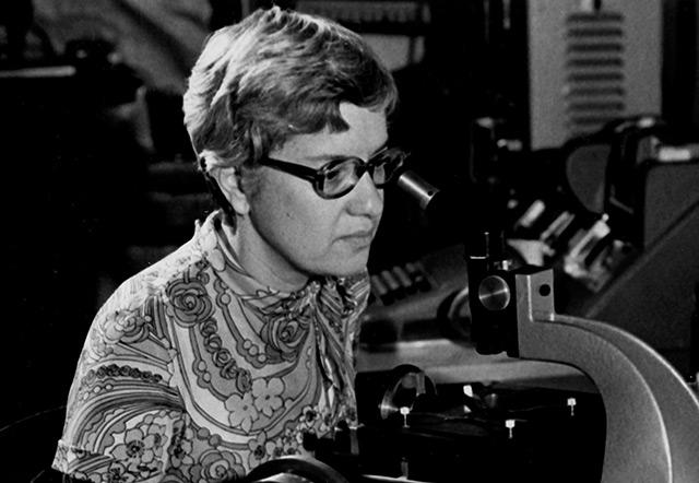 Vera Rubin in den 1970er Jahren
