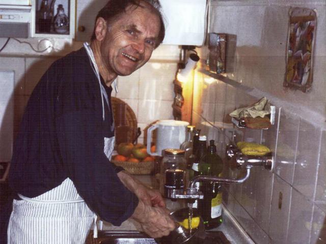 Ein Störenfried beim Abwaschen: Dieses Bild soll zu den Lieblingsbildern von Paul Feyerabend gehört haben