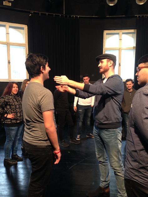 Bühne oida wiener volkstheater, Dezember 2016
