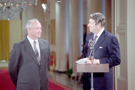 Reagan und Gorbatschow - Der letzte Akt des Kalten Kriegs    Originaltitel: Gorbachev - Reagan, Quid Pro Quo at the Top