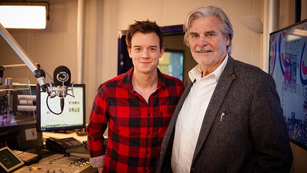 Peter Simonischek zu Gast im Ö3-Wecker mit Philipp Hansa