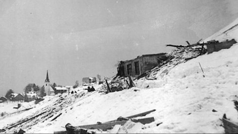 1954 Die größte Lawinenkatastrophe den alpen