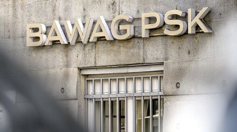BAWAG/PSK Schriftzug