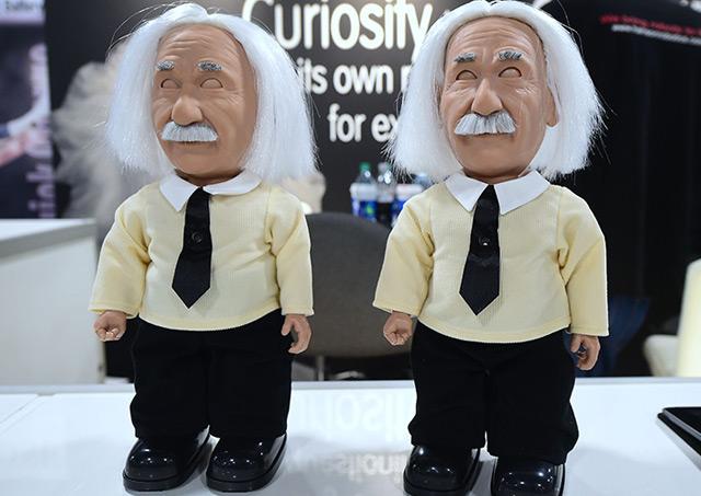 Einstein-Roboter auf der Consumer Electronic Show im Jänner 2017 in Las Vegas