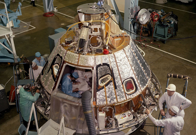 Raumkapsel Apollo 1