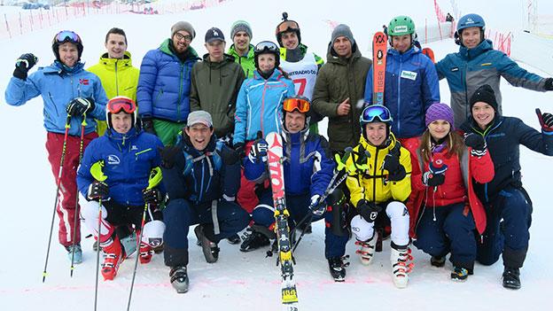 Gruppenfoto Ski-Challenge 2017