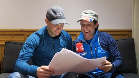 Ö3 Challenge Team Präsentation Benni Raich & Tom Walek