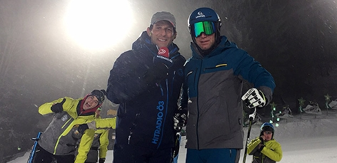 Ö3-Mikromann Tom Walek und Benny Raich
