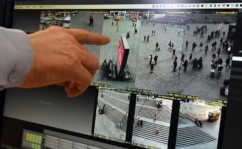 Videoüberwachung Monitor