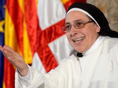 Die spanische Ordensfrau Lucia Caram