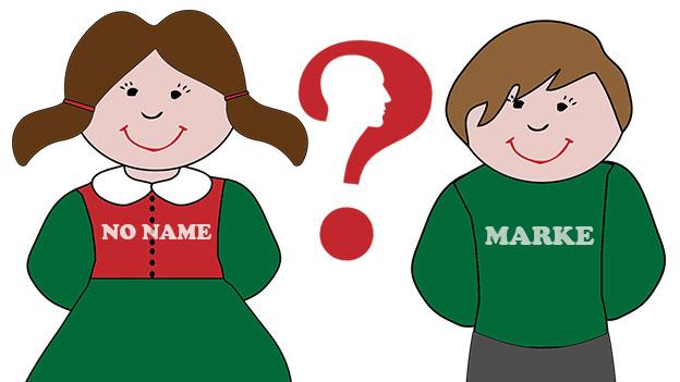 Dilemma: Markengewand für Kinder?